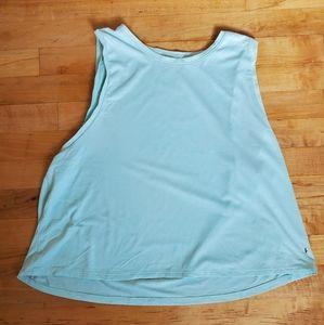 3/$15 PINK Victoria's Secret baby blue top